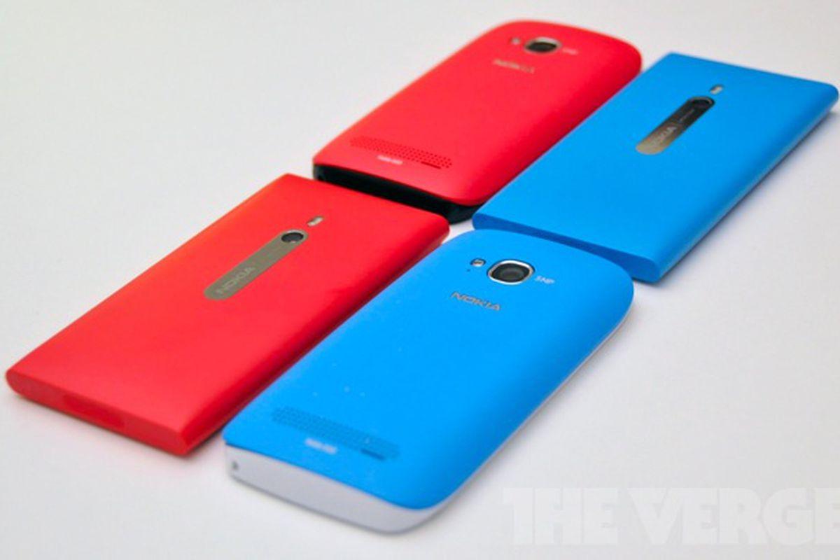 Nokia Lumia family portrait