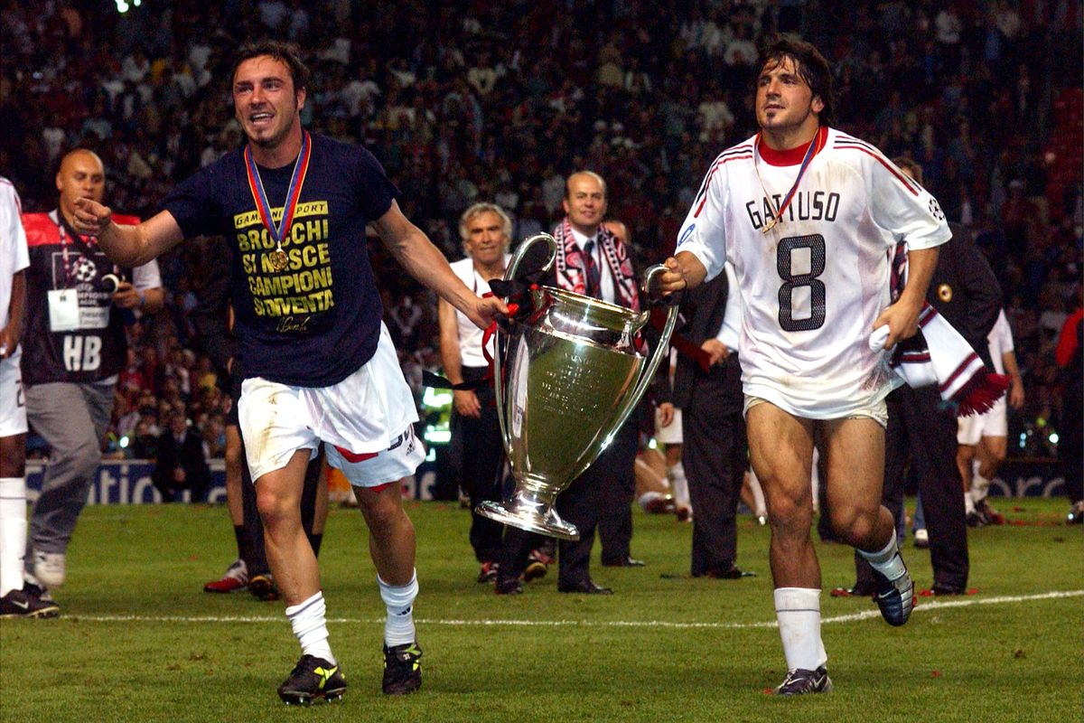 Image result for gattuso champions league