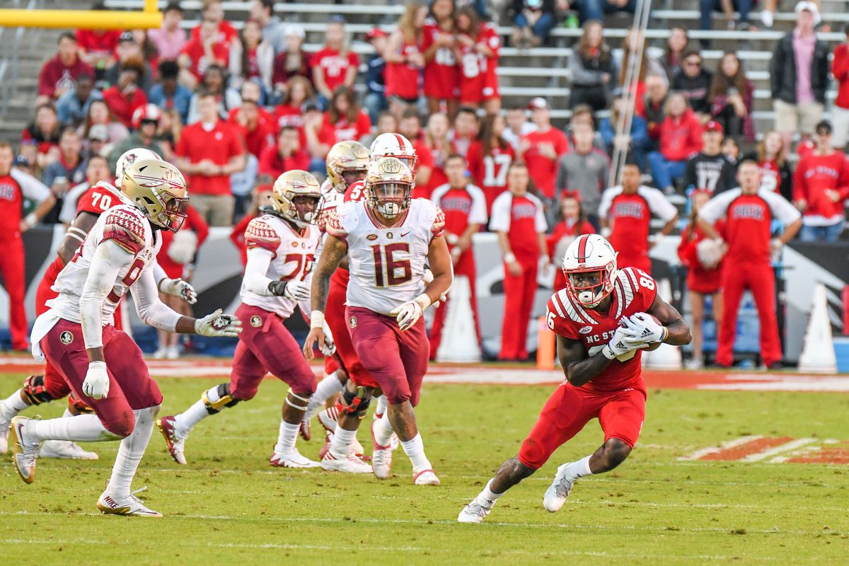 COLLEGE FOOTBALL: NOV 03 Florida State at NC State