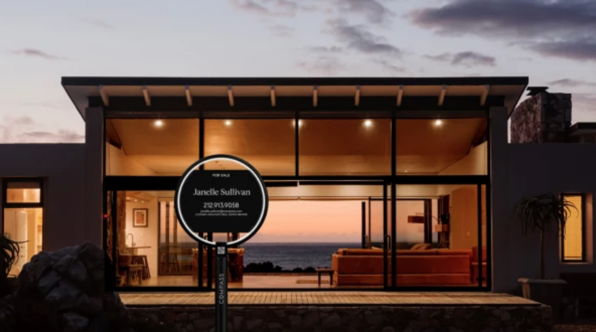 Compass Unveils For Sale Sign Prototype For Modern Age