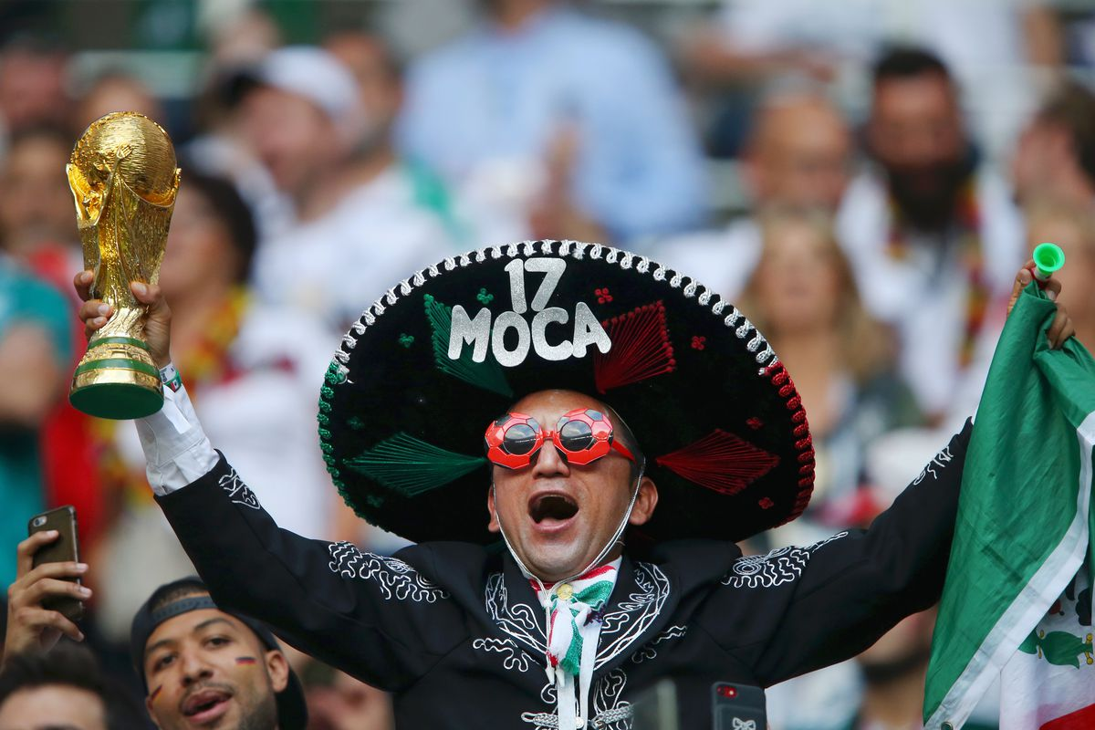 Image result for germany mexico fans