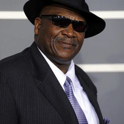 FILE - In this Feb. 8, 2009, file photo, Taj Mahal arrives at the 51st Annual Grammy Awards, in Los Angeles. The artist known as Taj Mahal, who has played an average of 125 concerts a year since 1968, turns 70 somewhere on the road between Kansas and Colorado in May. But his next stop is Alaska, a place he first visited sometime in the 1970s and a place he has returned routinely since. Two things keep him coming back: the fish and the widespread appreciation for a musician who travels this far north and stops somewhere besides Anchorage.