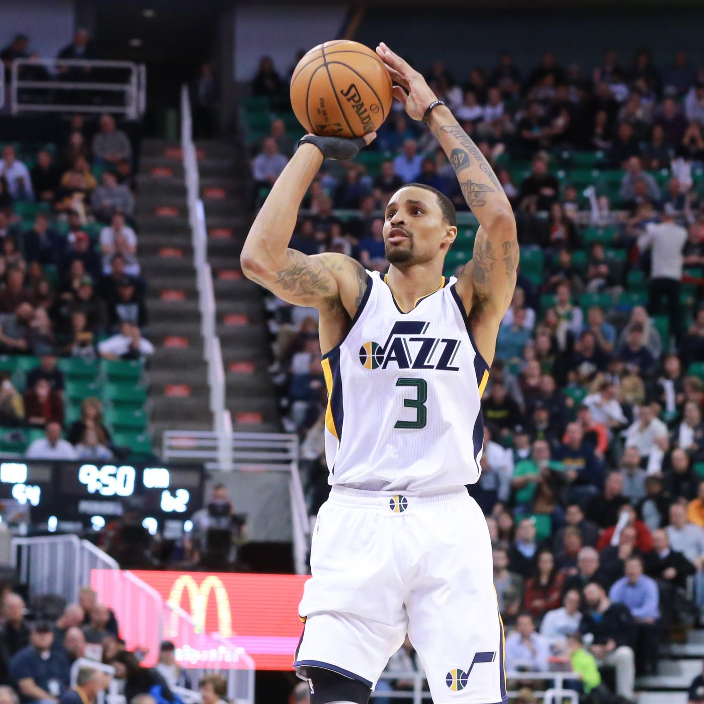 For Utah Jazz Injury Bug Is The New Normal George Hill Out For