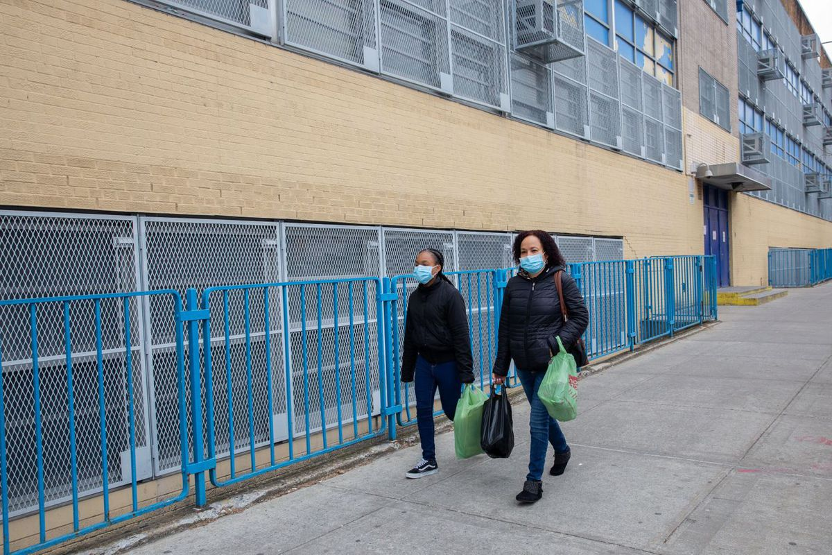 The Laboratory School of Finance and Technology and South Bronx Preparatory in Mott Haven was closed in March after a student tested positive for the coronavirus.