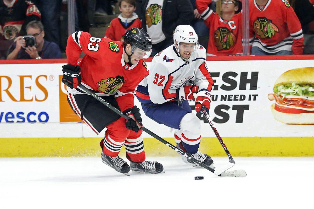 NHL: Washington Capitals at Chicago Blackhawks