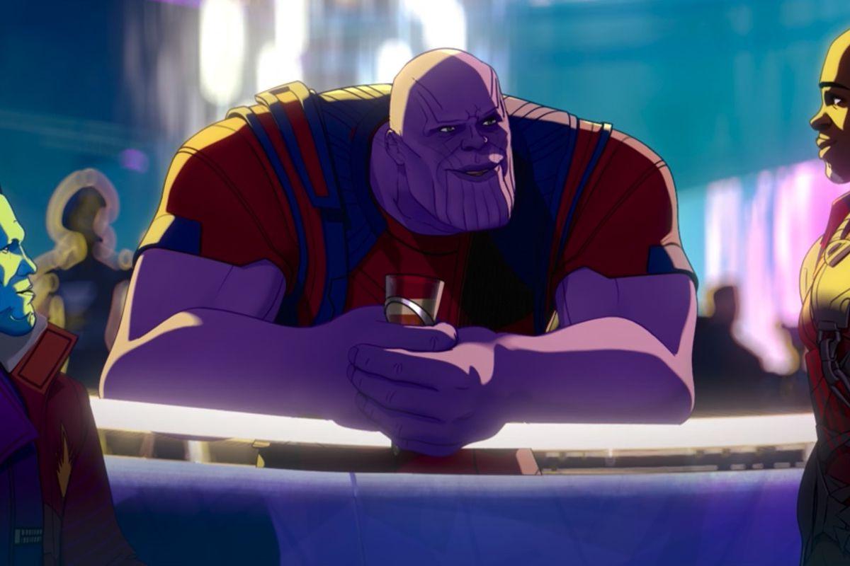 "Thanos (Josh Brolin) in Marvel's ""What If...?"""