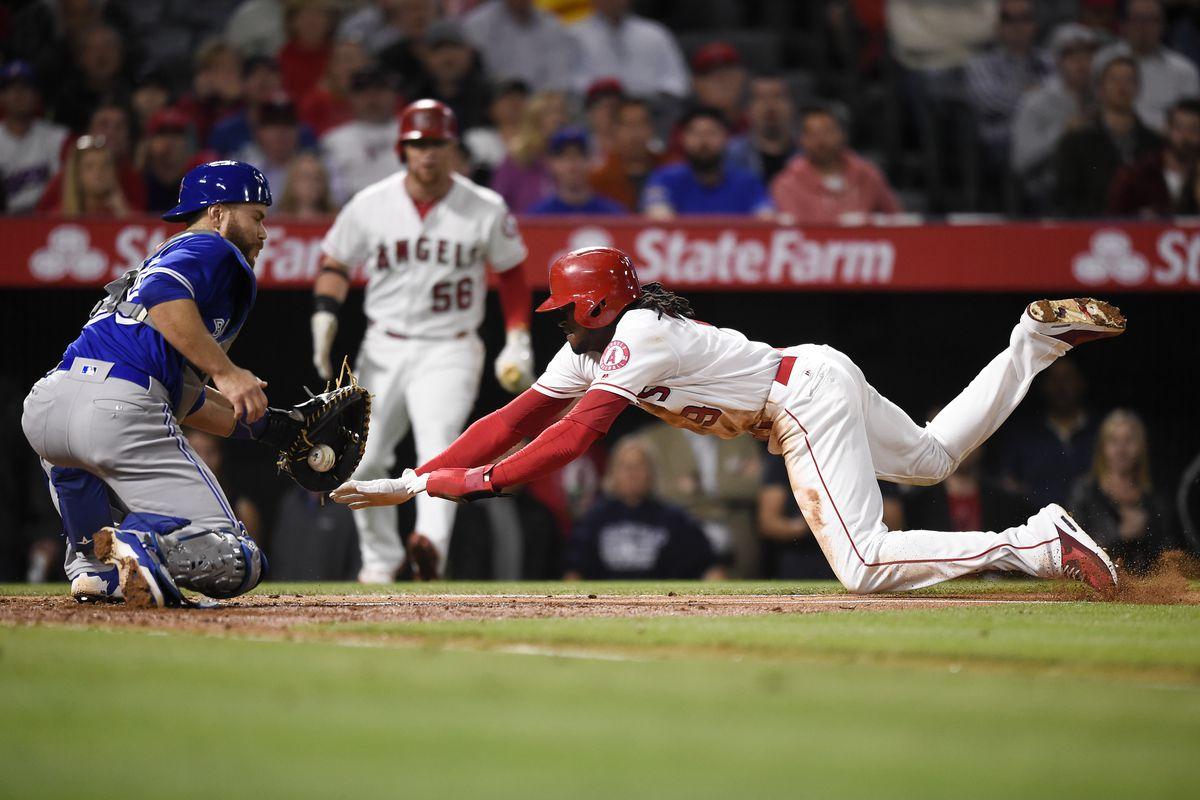 MLB: Toronto Blue Jays at Los Angeles Angels