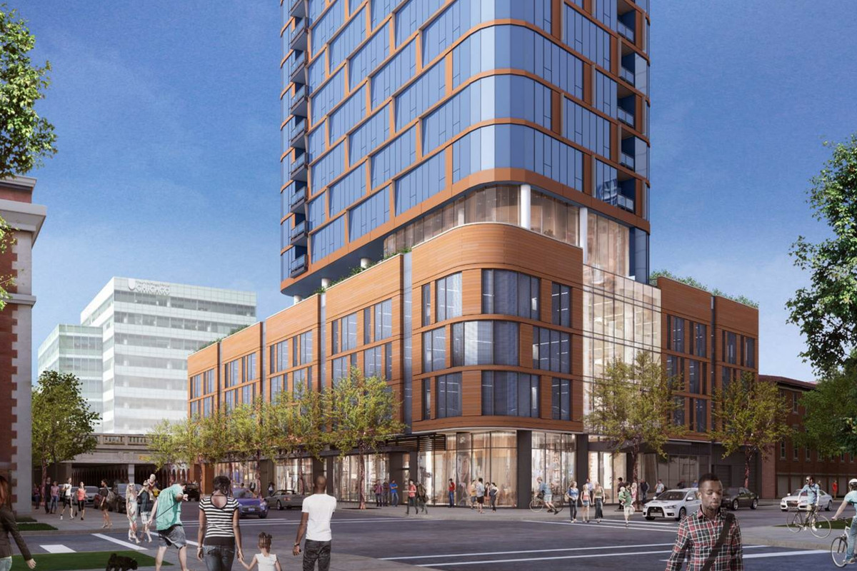 27-story Hyde Park apartment tower OK'd by Chicago Plan ...