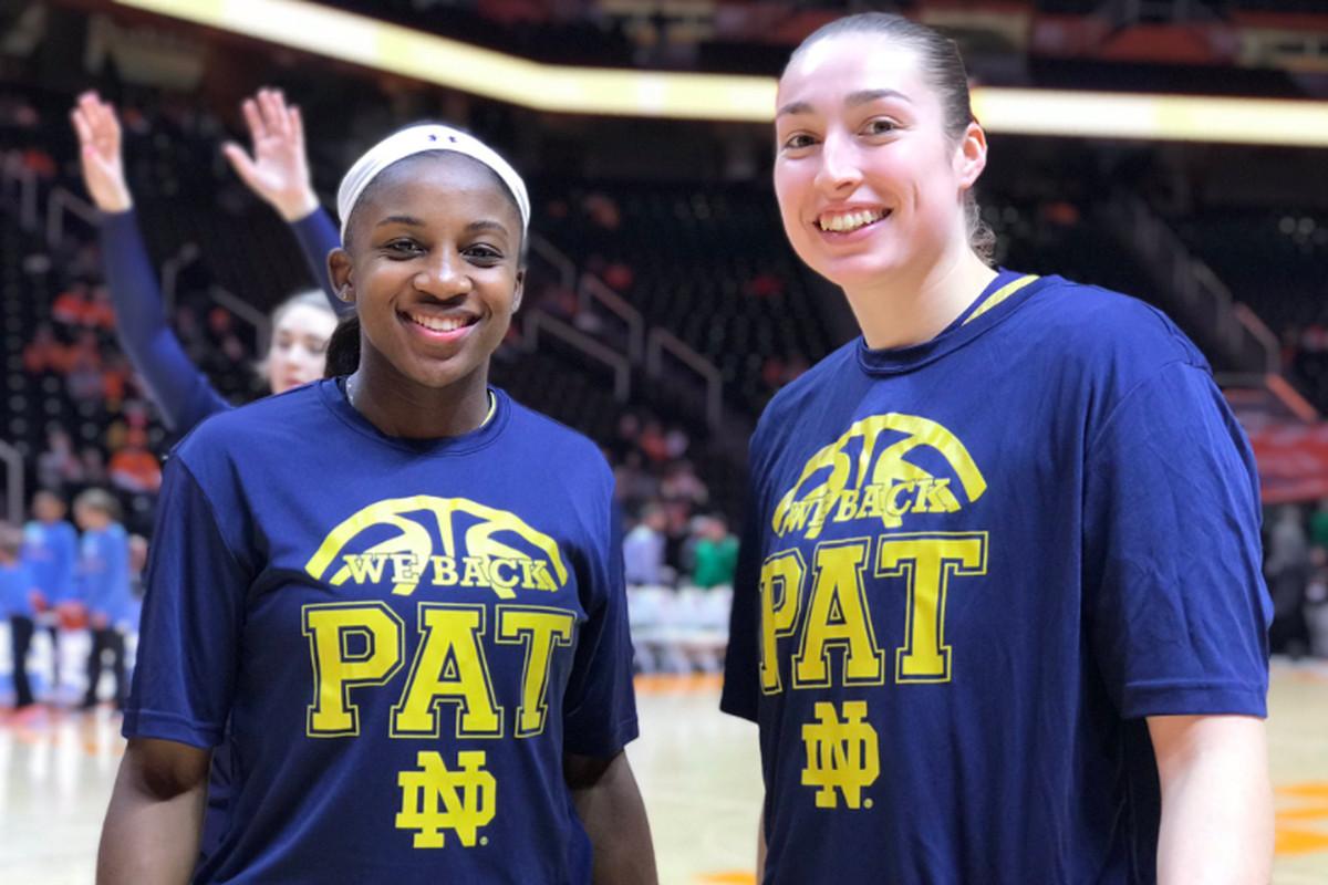 563e0f928210 Notre Dame Women s Basketball Recap  Irish Beat Tennessee On The Road 77-62