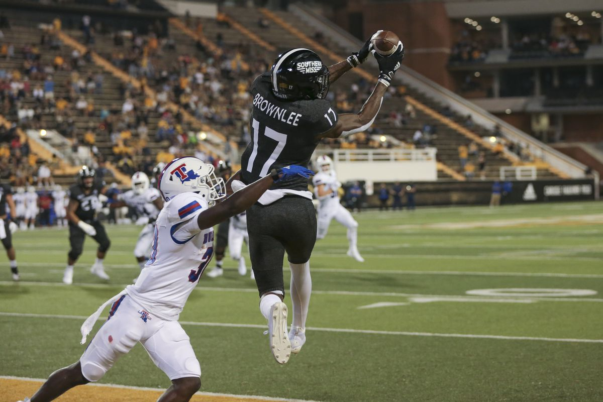 COLLEGE FOOTBALL: SEP 19 Louisiana Tech at Southern Miss