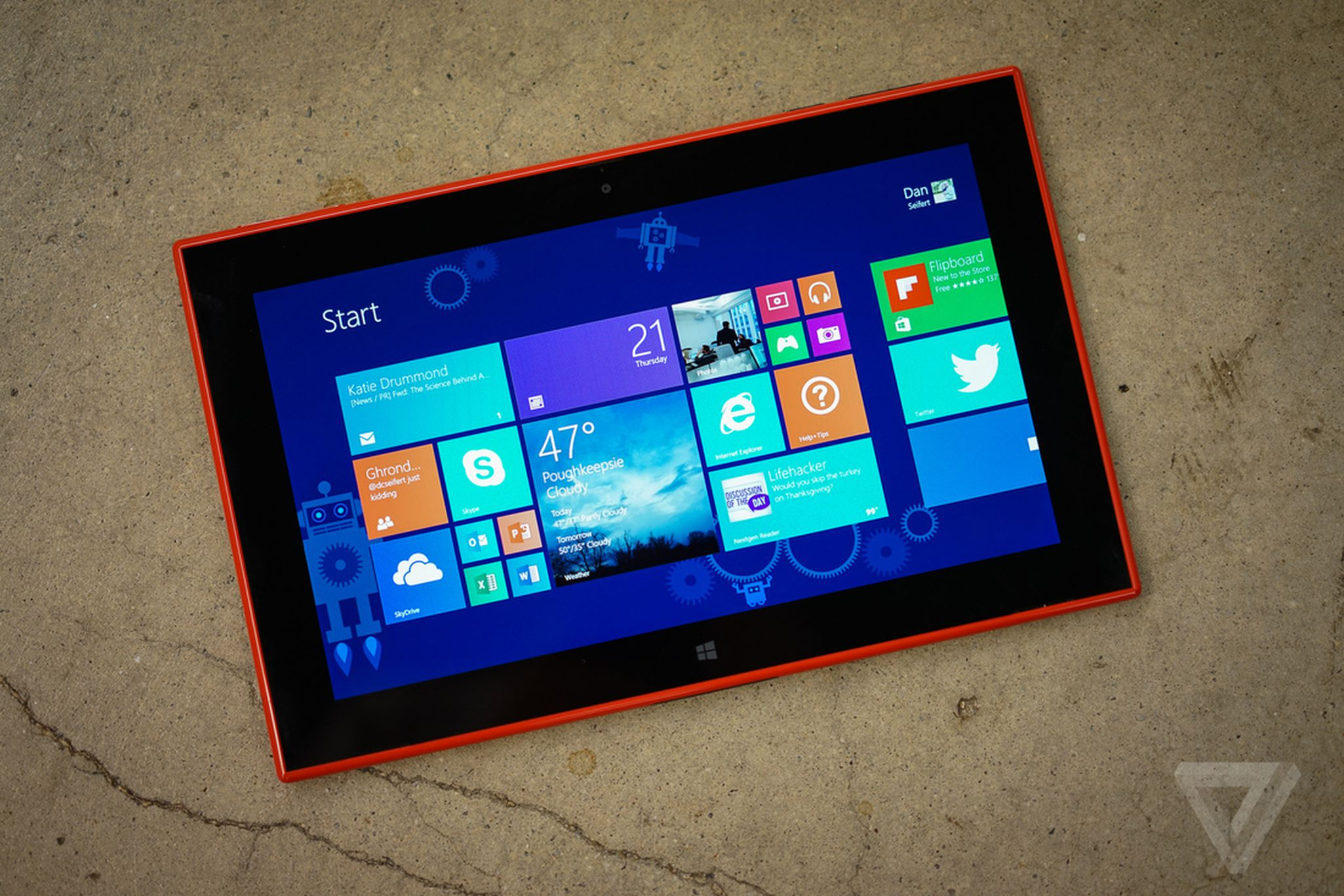 Finland's first Windows tablet brings a few extra tricks to the table