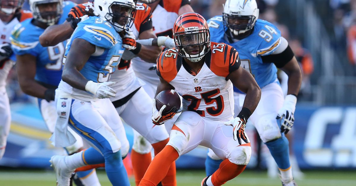 5 Bengals to watch for against the Chargers