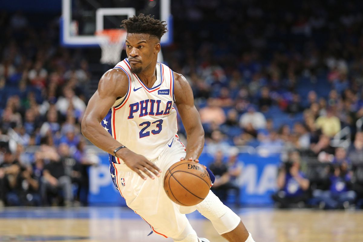 best service 569f9 4935d Fitting Jimmy Butler in Is Going to Be a Process for the ...