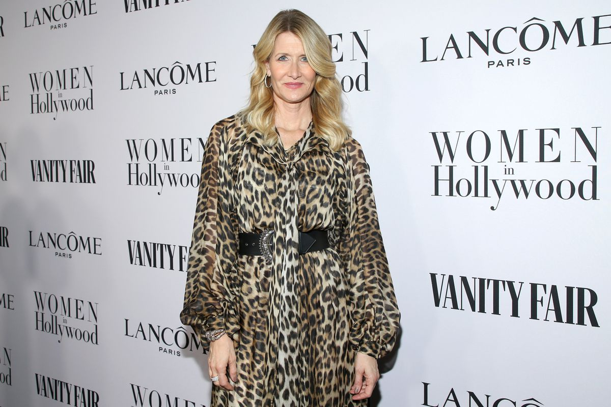 Laura Dern attends Vanity Fair and Lancôme Toast Women in Hollywood on February 06, 2020 in Los Angeles, California.