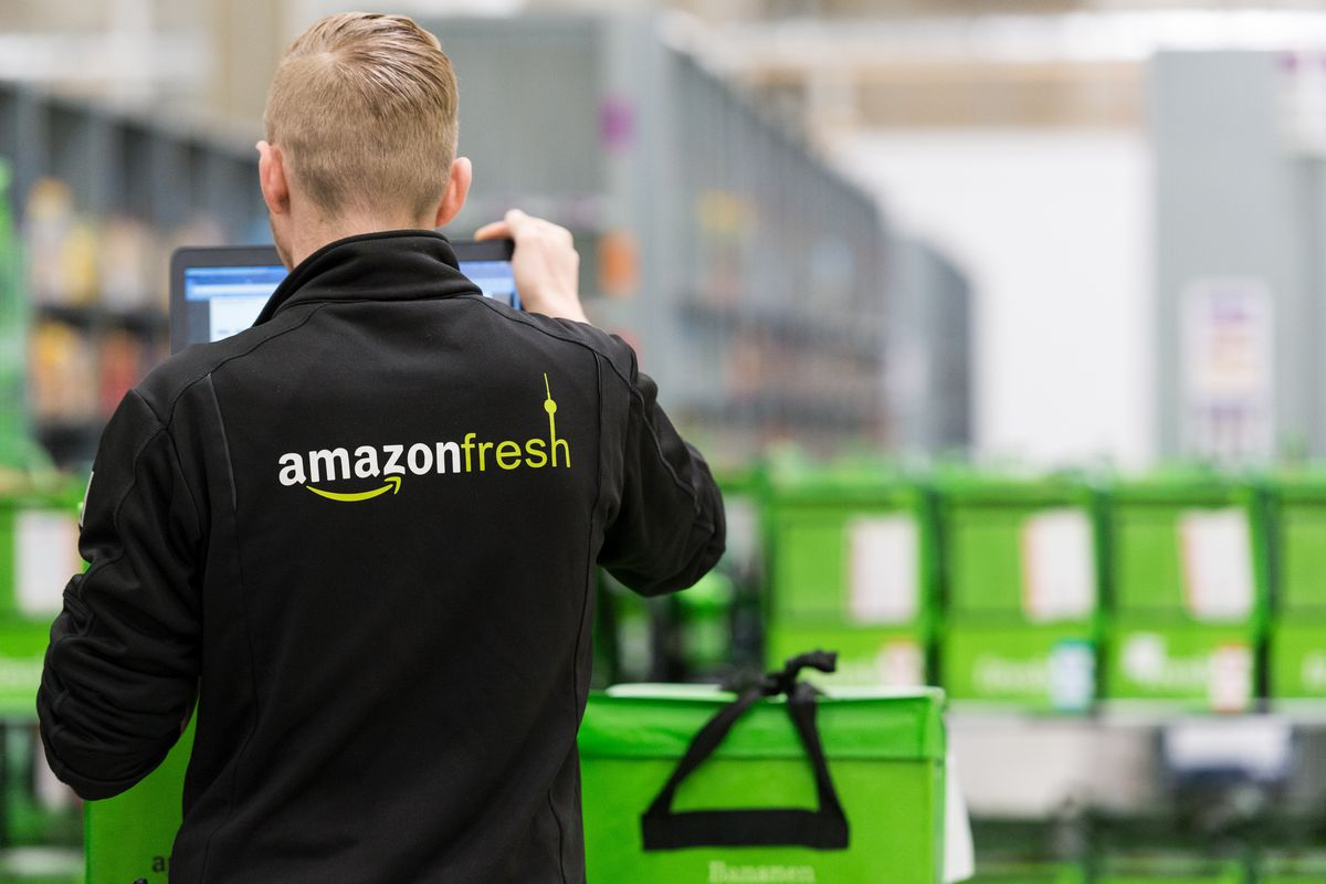 Amazon Fresh will deliver more groceries in the UK