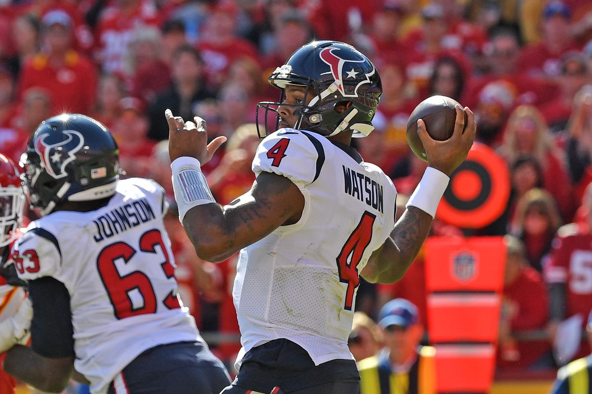 Opposing QB Stat Tracker: Week 7 - Deshaun Watson
