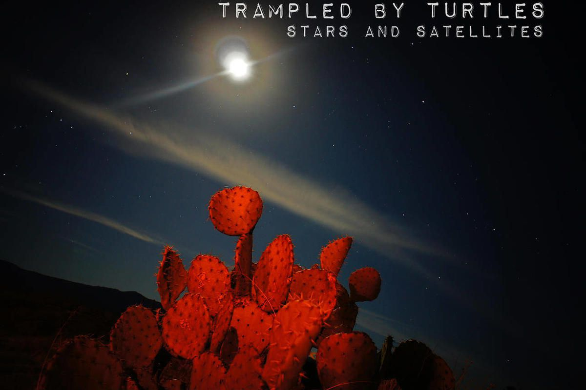 """In this CD cover image released by Thirty Tigers, the latest release by Trampled By Turtles, """"Stars and Satellites,"""" is shown."""