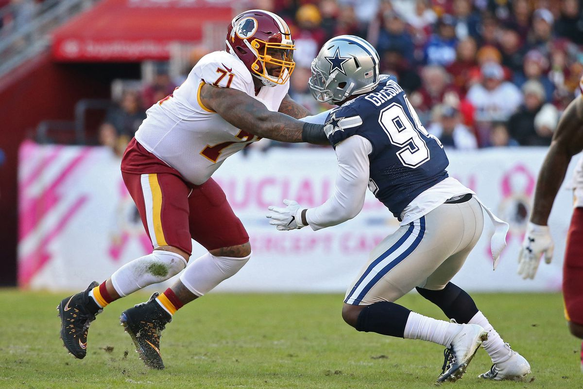 937213970631 Redskins vs Cowboys Injury Report  Chris Thompson OUT  Trent Williams  returning