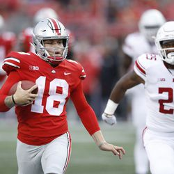 """Martell would shortly commit to Ohio State, where he redshirted in 2017 and backed up Heisman finalist Dwayne Haskins in 2018. However, following the transfer of former Georgia QB Justin Fields to Ohio State, Tate (who's real name is """"Tathan""""), put his name into the NCAA transfer portal."""