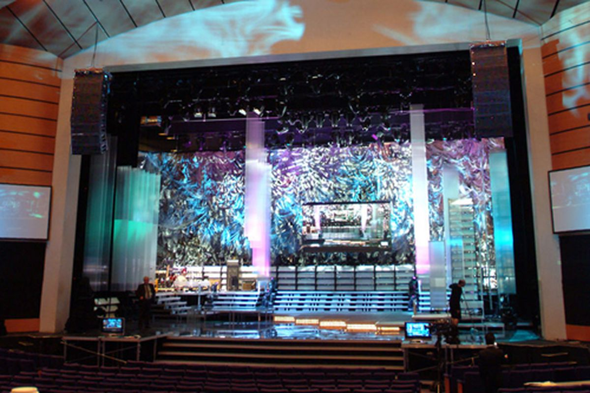 Chemmy prepares the stage for the first annual PPP Amalgamated Heavy Industries Award show.