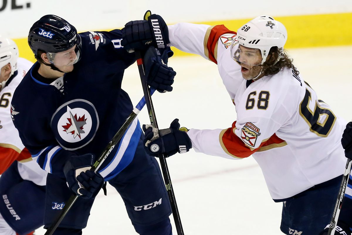 NHL: Florida Panthers at Winnipeg Jets