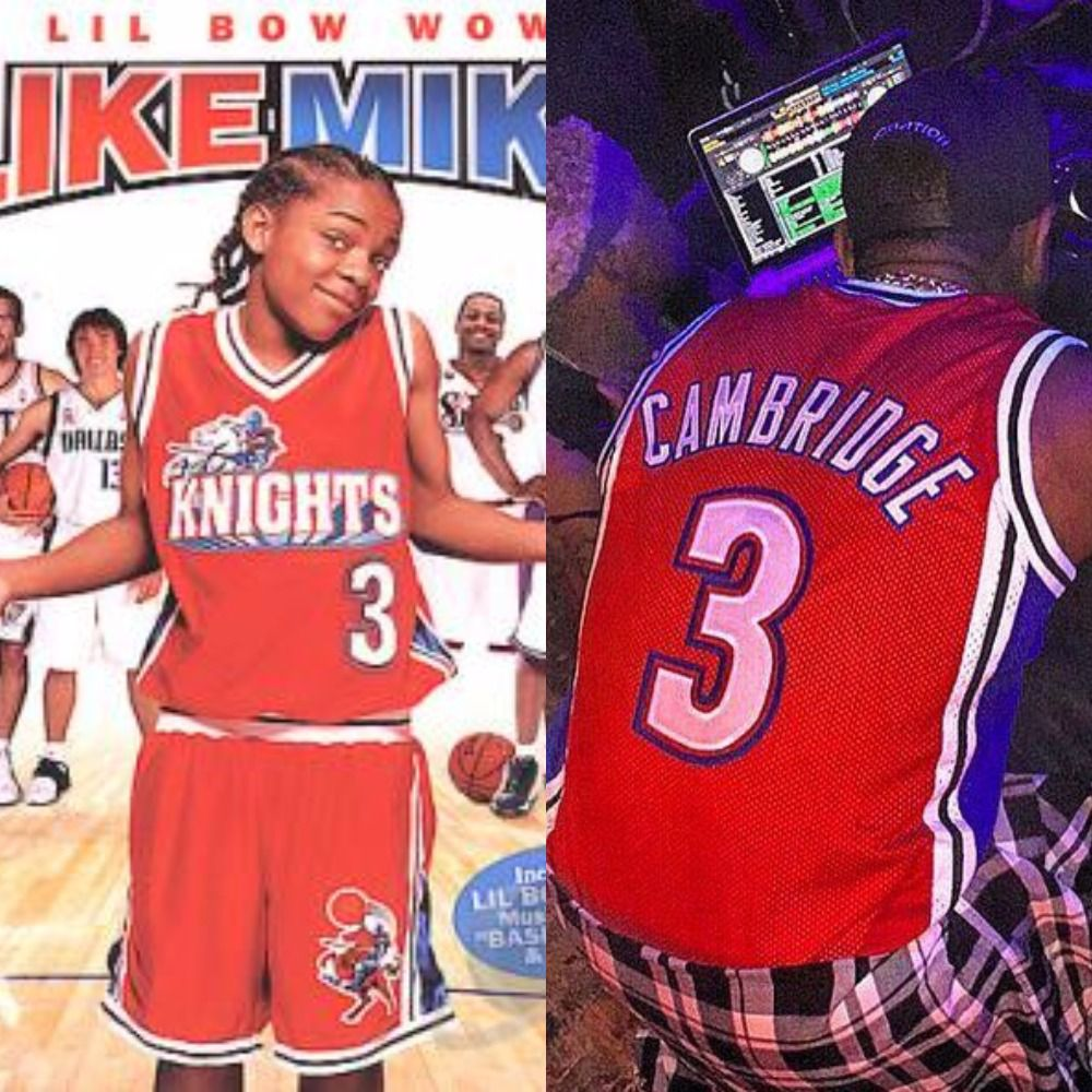 timeless design dcdcb 417e7 8 times Fabolous had the jerseys we wish were real ...