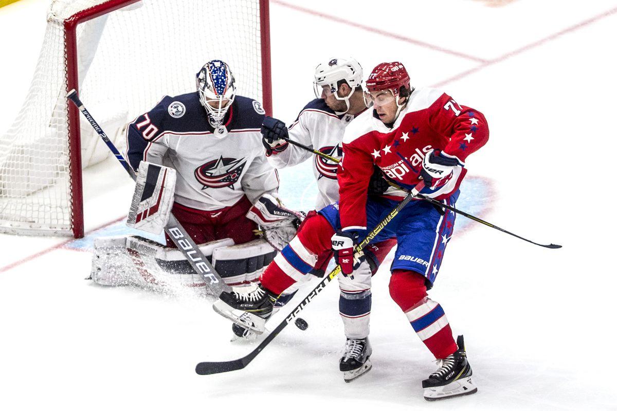 NHL: DEC 09 Blue Jackets at Capitals