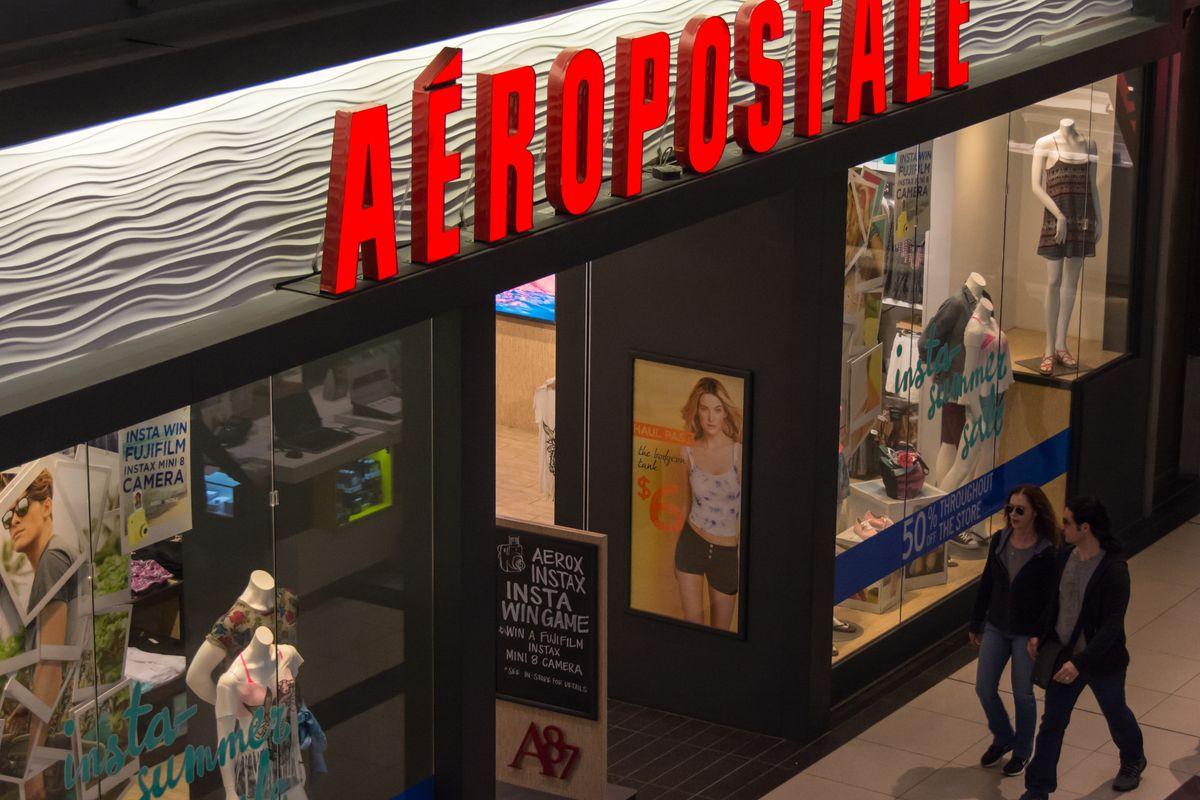 An Aéropostale store. Photo: Roberto Machado Noa/Getty Images