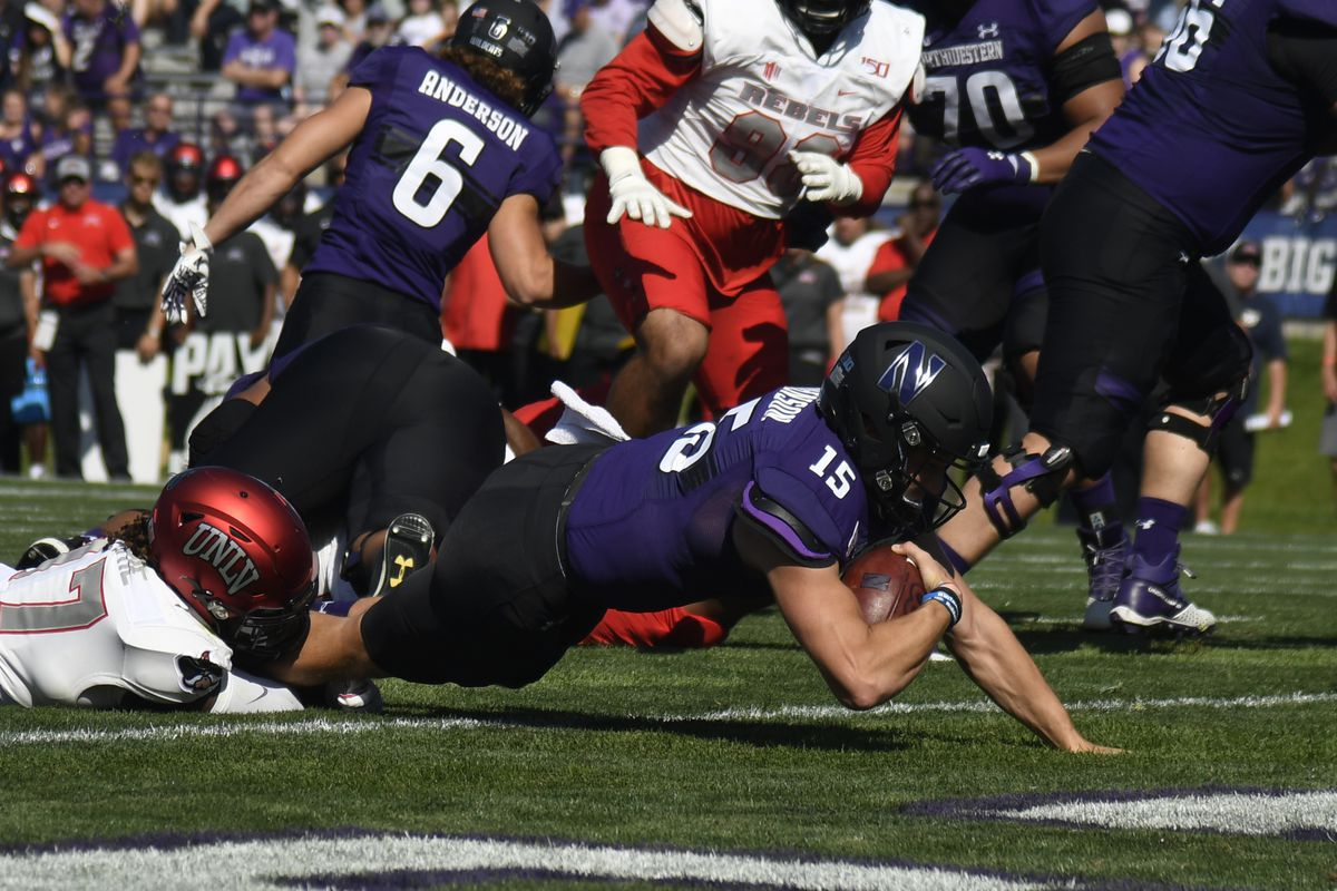 Rapid Reaction: Northwestern takes over in second half to obliterate UNLV 30-14