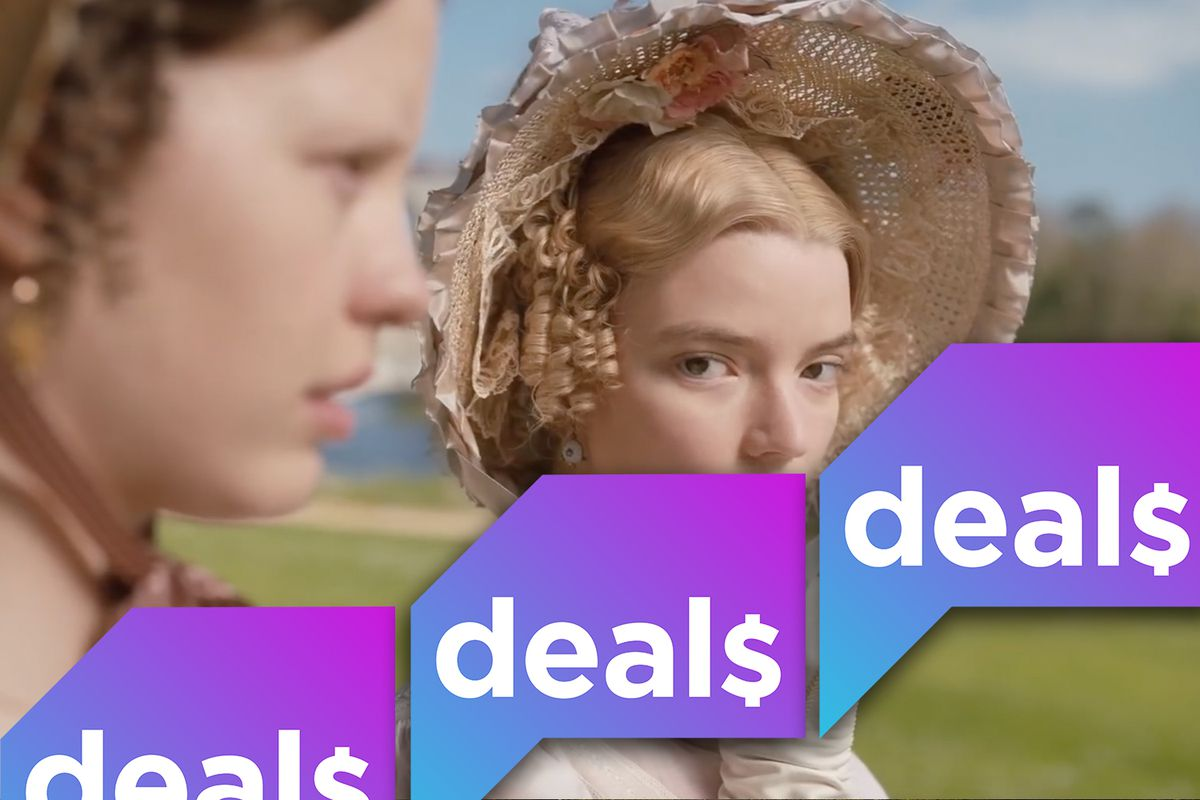 a screenshot from Emma overlaid with the Polygon Deals logo