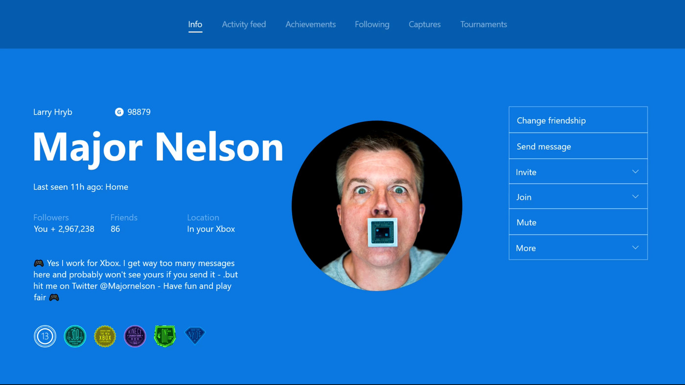 Xbox Live Members Can Now Use Custom Gamerpics The Verge