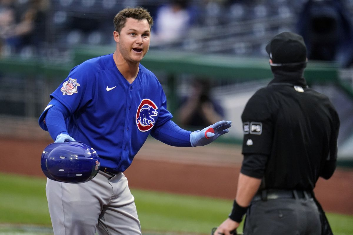 The Cubs placed Joc Pederson on the 10-day injured list.