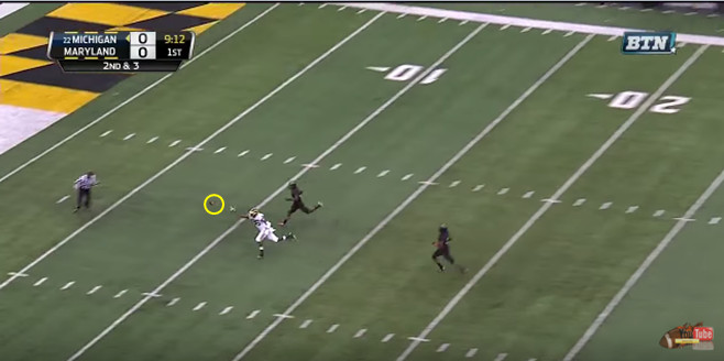 FF - Maryland - Rudock - Overthrows Chesson