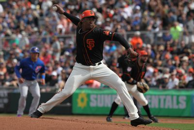 MLB: MAR 09 Spring Training - Cubs (ss) at Giants