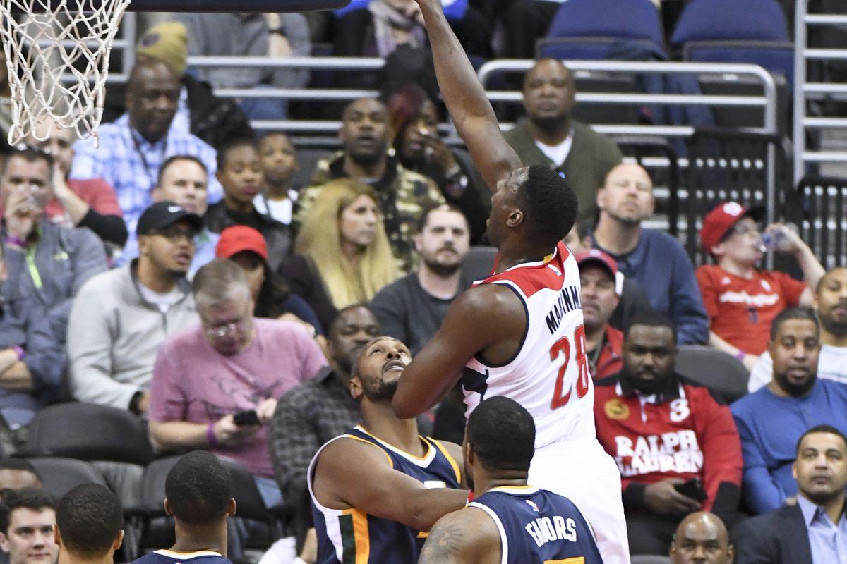NBA: FEB 26 Jazz at Wizards