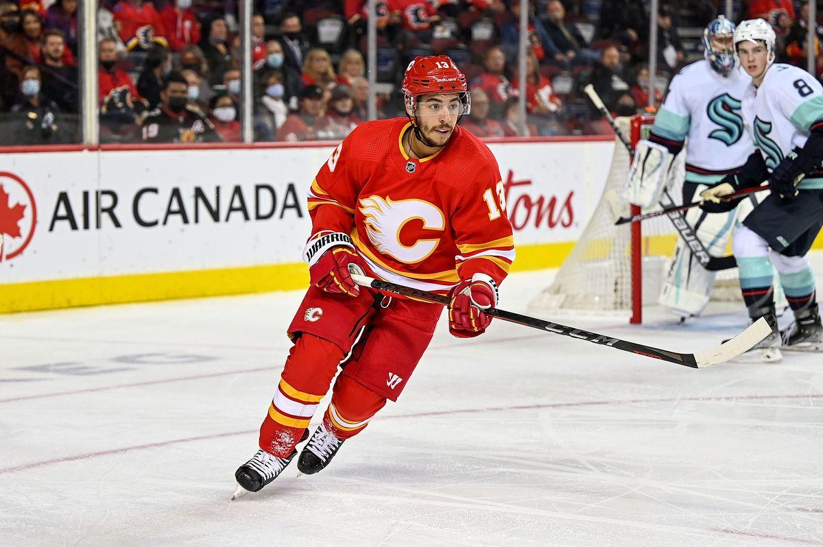 NHL: SEP 29 Preseason - Kraken at Flames