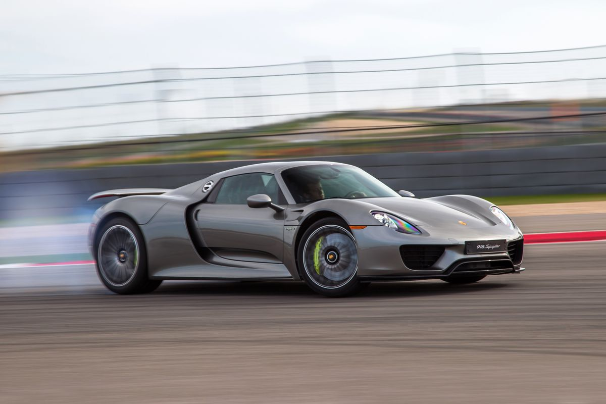 Porsche just produced its last 918 Spyder hybrid supercar