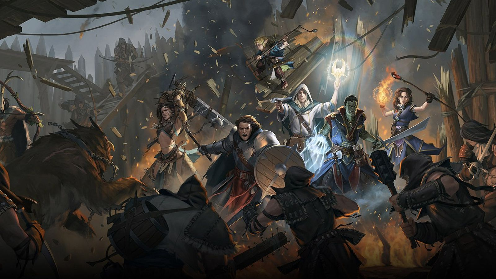 Pathfinder will finally get its own isometric RPG thanks to successful Kickstarter