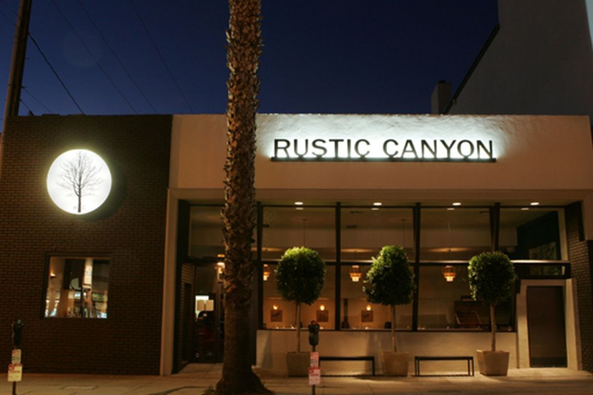 Jonathan Gold Discusses Rustic Canyon In Santa Monica