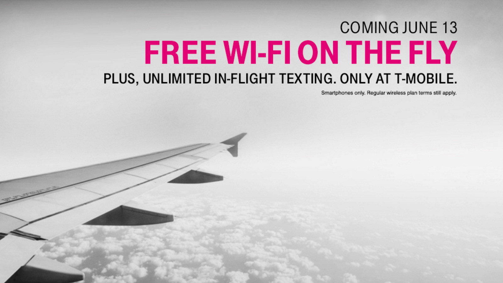 T Mobile Customers Are Getting A Free Hour Of Gogo Wi Fi On Every Flight The Verge