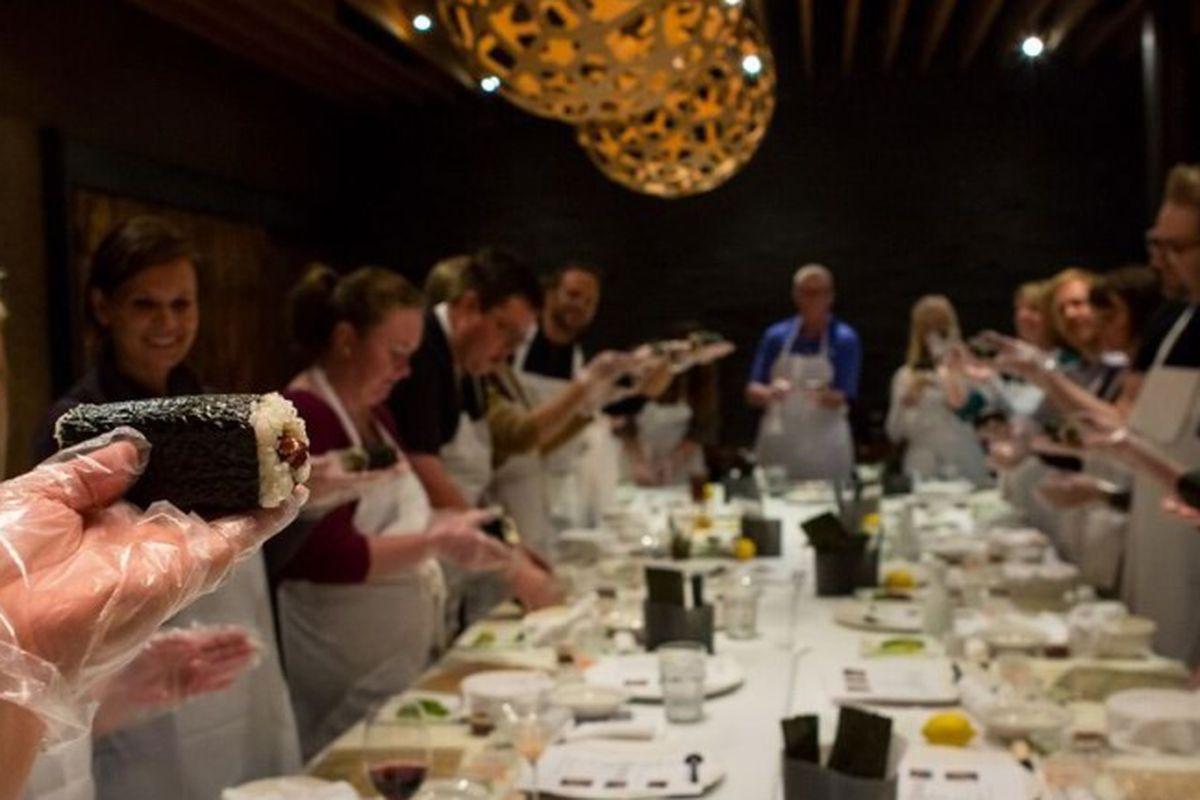 Sushi making class by Sushi Den/Ototo