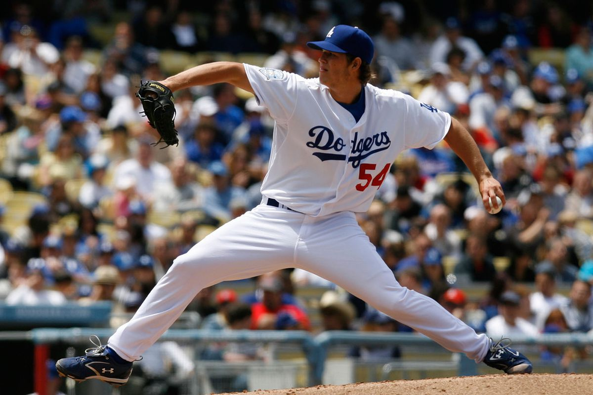 Clayton Kershaw MLB debut (Jeff Gross   Getty Images)
