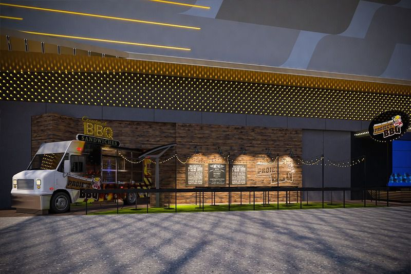 A rendering of Project BBQ