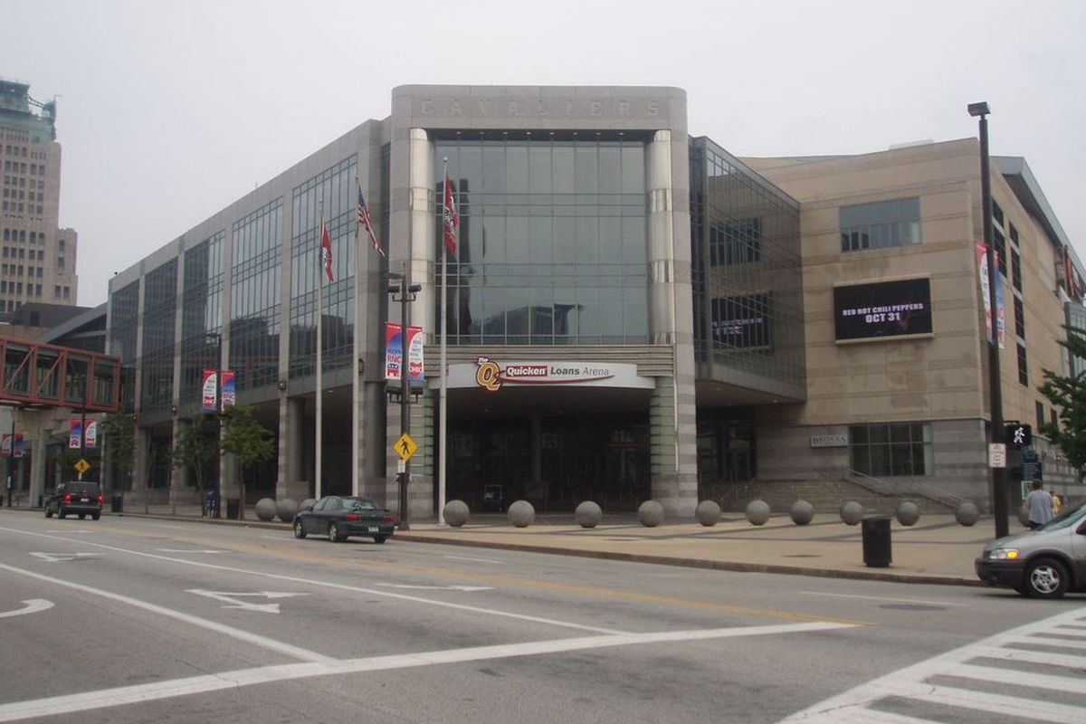 The Quick Loans Arena in Cleveland, OH