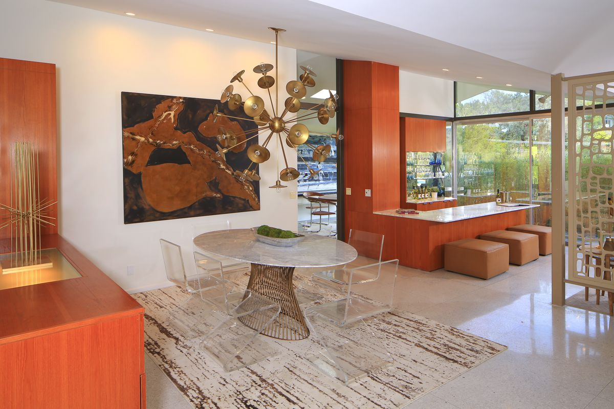 Sexy Midcentury Modern By Thornton Abell In The Hollywood