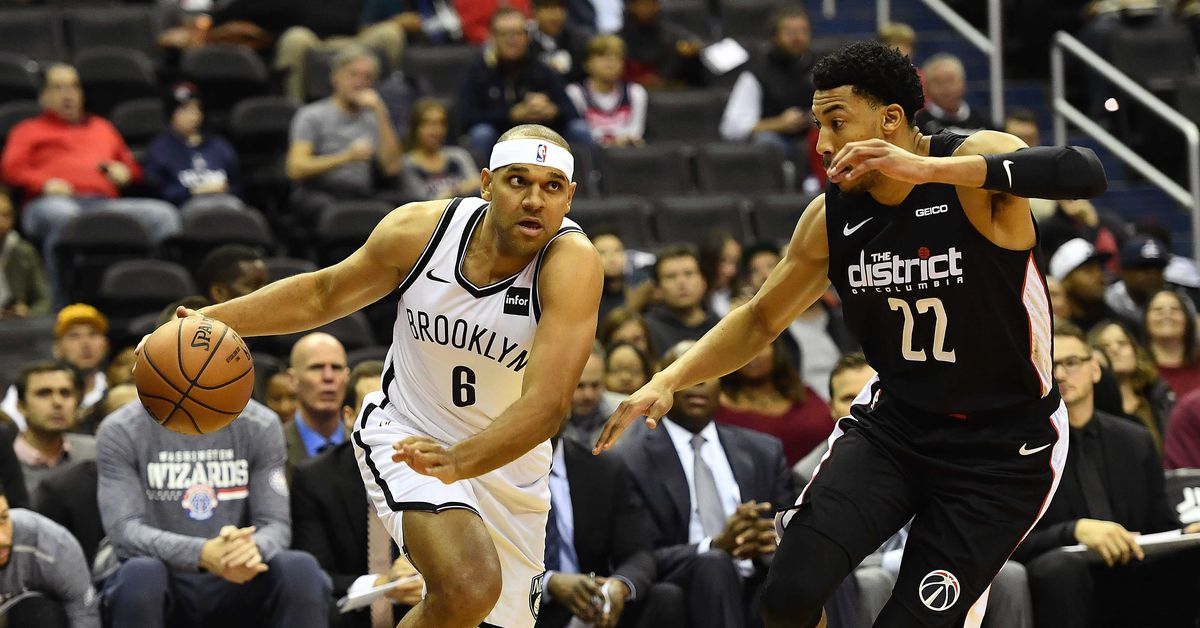 Wizards Go Cold in 115-104 Loss to Nets. Brooklyn Nets logo