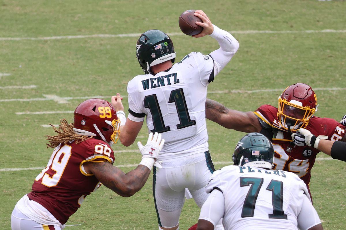 NFL: Philadelphia Eagles at Washington Football Team