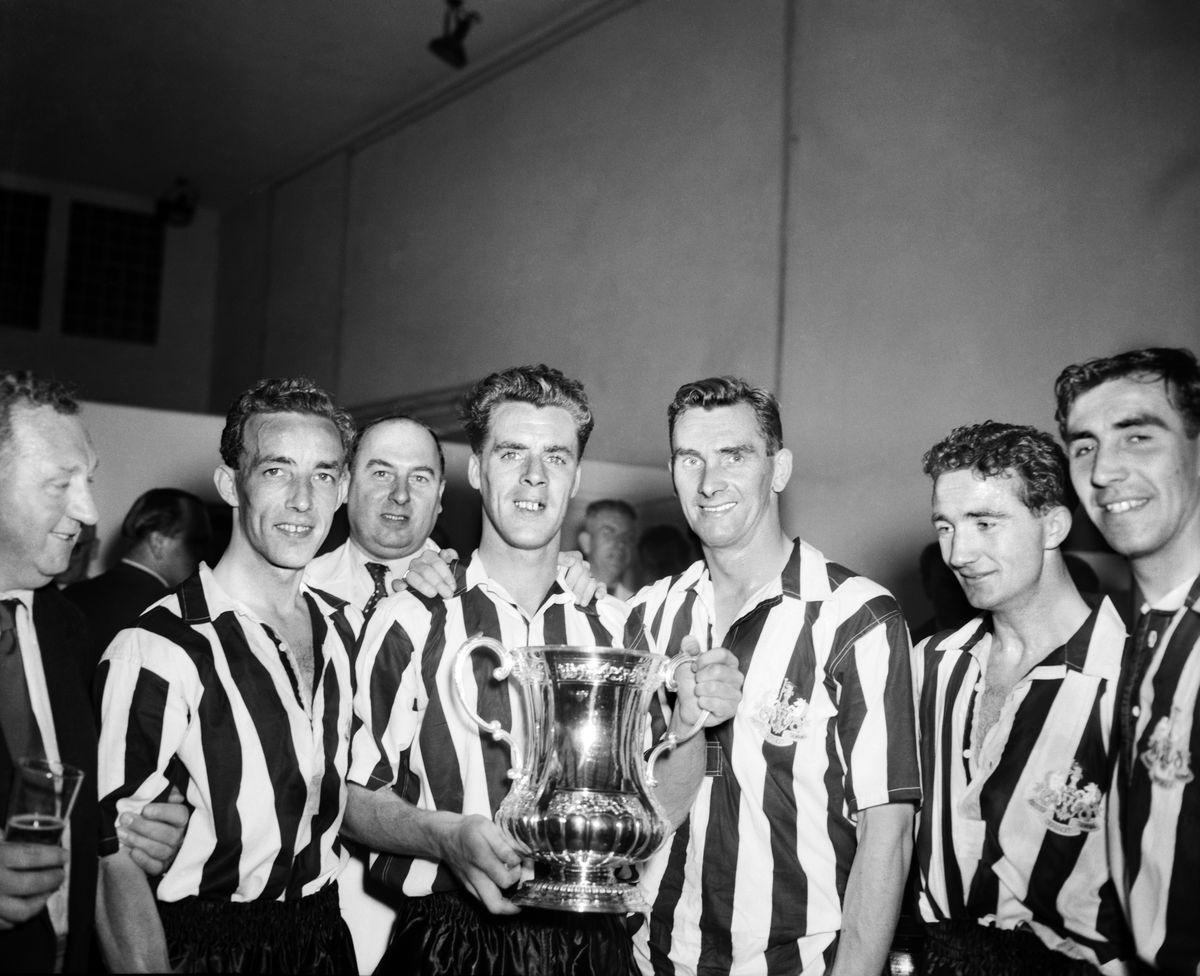 Newcastle United 1955