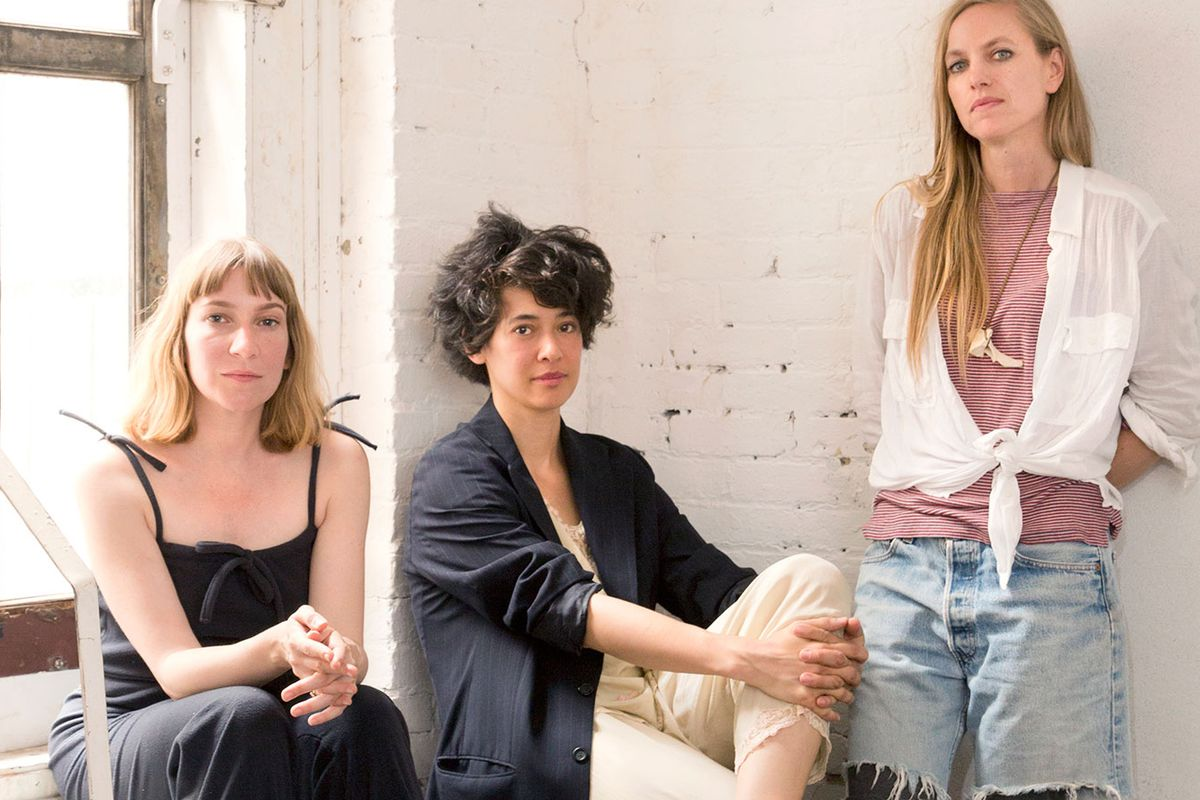 The book's editors, from left: Sheila Heti, Leanne Shapton, and Heidi Julavits. Photo by Gus Powell