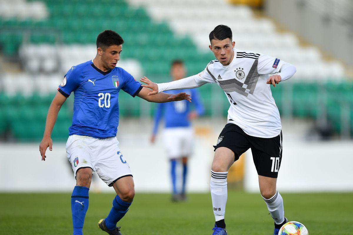 Germany v Italy - 2019 UEFA European Under-17 Championships Group D